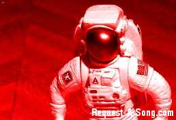 Red Astronaut