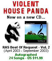 Best of Request - Vol. 2 CD - With Violent House Panda